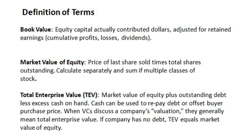 definition of a picture book how do venture capitalists value companies shazeeye s