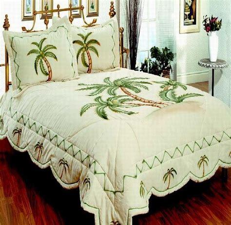 palm tree comforter set bedroom bedding 3pcs quilt set palm tree palm tree decor