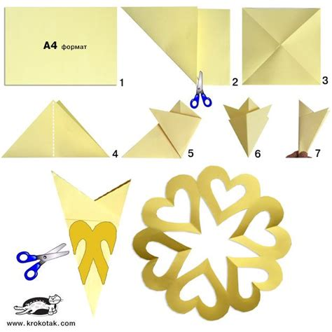 easy origami snowflake 25 best ideas about paper hearts on