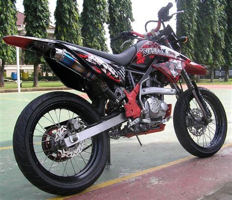 Modifikasi Motor Kawasaki by Modifikasi Motor Kawasaki D Tracker Trend Otomotif