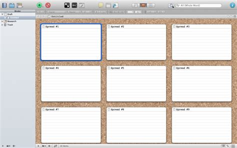 picture book storyboard writer s studio using scrivener to storyboard your