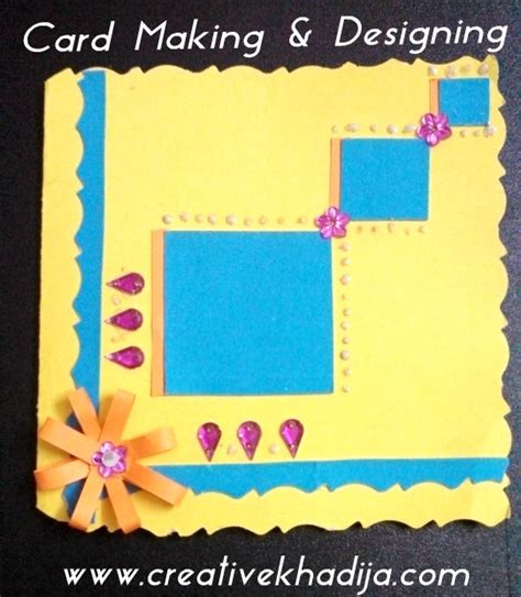 how to make a card card ideas for eid greetings creativecollections