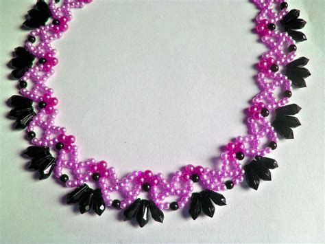 bead jewelry patterns 15 diy seed bead necklace patterns guide patterns