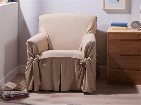housse fauteuil bachette 1 place 100 coton ines beige