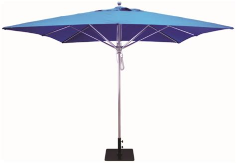 commercial patio umbrella 10x10 aluminum square commercial patio umbrella