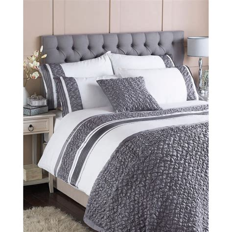 macy bedding set paoletti macy bedding set in white and grey free delivery