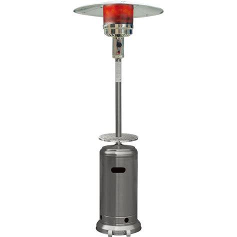 41000 btu patio heater hanover 7 ft 41 000 btu stainless steel umbrella propane