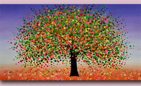 colorful tree photo collection colorful tree paintings