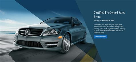 Pre Own Mercedes Sale by Mercedes Certified Pre Owned New Car Release