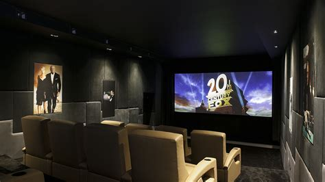 home cinema lighting design bond themed bespoke home cinema in cheshire