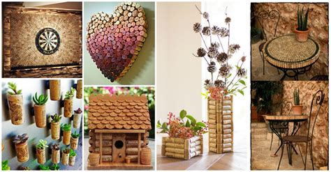 cork projects crafts diy unique cork crafts that will beautify your home