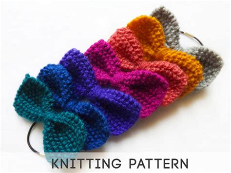knit bow tie pattern unavailable listing on etsy
