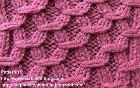 knit me hexagonal embossed stitches free knitting tutorial