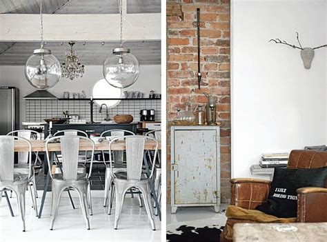 vintage industrial home decor contrasting 1930s villa with an industrial vintage d 233 cor