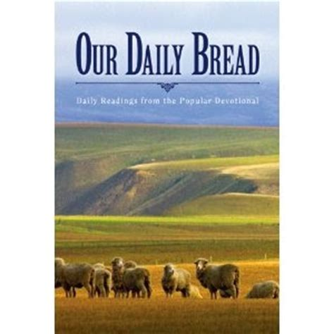daily bead my blah blah our daily bread