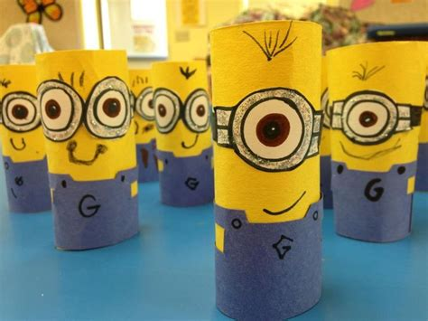 minion craft projects minion craft for the kiddies easy and class