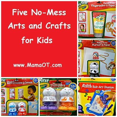 Five No Mess Arts And Crafts For Ot