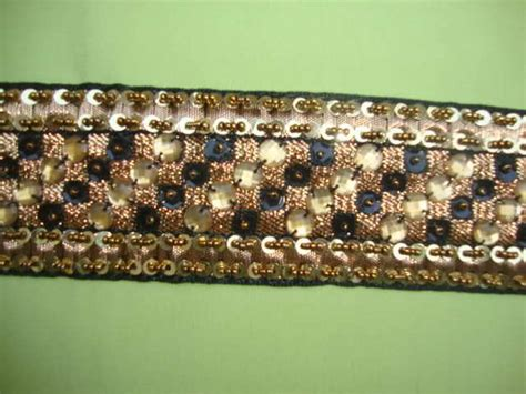 beaded trim by the yard 1yd beaded fabric beaded trim ribbon by the yard t178