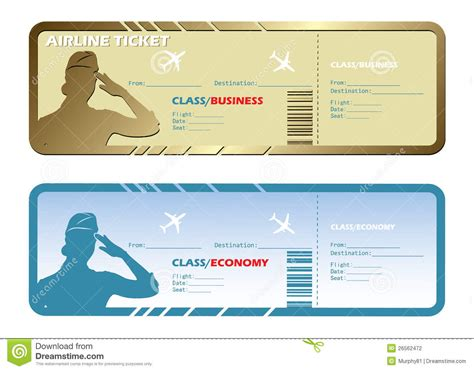 airlines tickets stock photography image 26562472