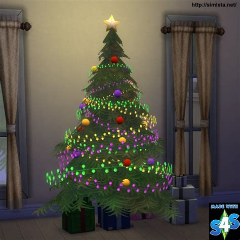 sims 3 weihnachtsbaum tree and lights simista a sims 4 site