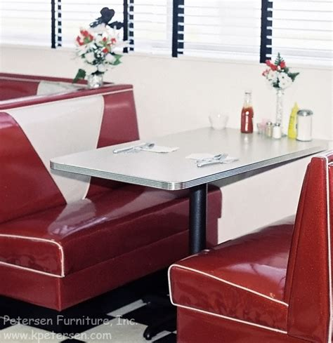 restaurant booths and tables diner restaurant booth tables with grooved aluminum edge