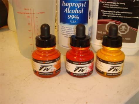 acrylic paint hair dye no blend transitional dread synth hair dye tutorial