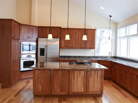 Cherry Cabinets kitchen with cherry cabinets kitchen wallpaper