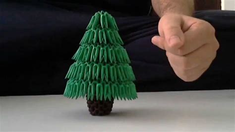 how to make a 3d origami tree how to make 3d origami tree
