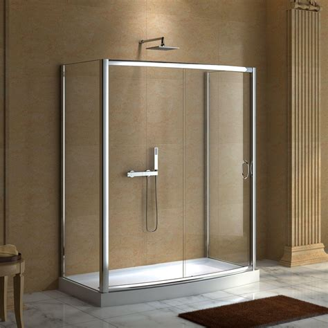 59 quot x 30 quot karev shower enclosure shower enclosures and