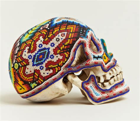 mexican beaded skulls amazing mexican beaded skulls 171 twistedsifter