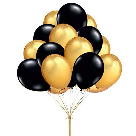 Popular Black and Gold Balloons Decorations Buy Cheap Black and Gold Balloons Decorations lots