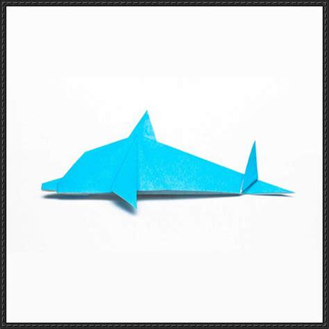 origami dolphin papercraftsquare
