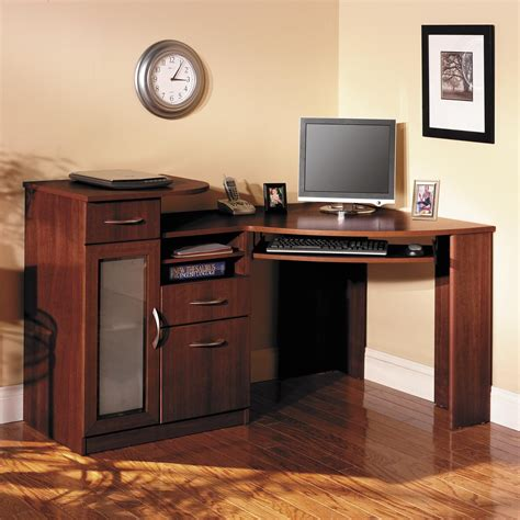 computer desks for the home the ease and efficiency of the corner computer desk