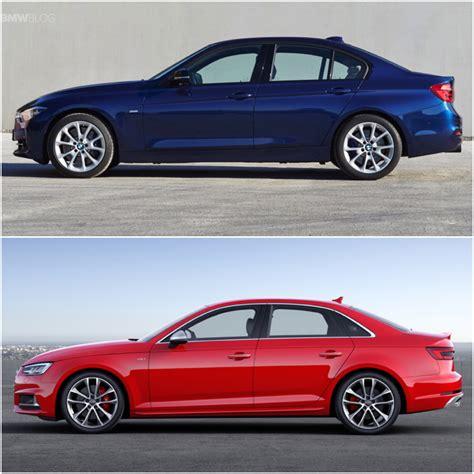 Bmw S4 by 2015 Bmw 340i Vs 2016 Audi S4