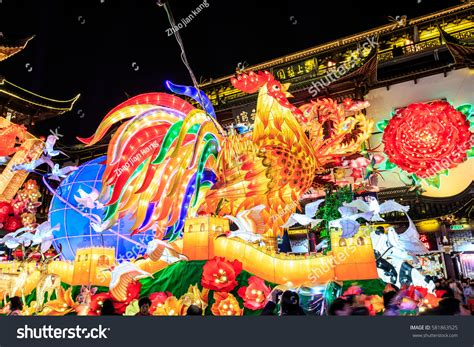 festival china shanghaichina feb 132017lantern festival new stock