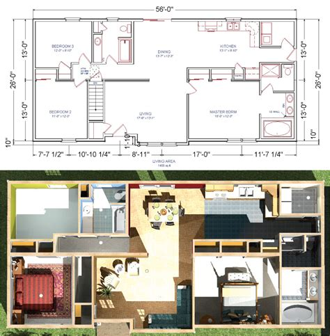 house building plans and prices livingston modular ranch home plan