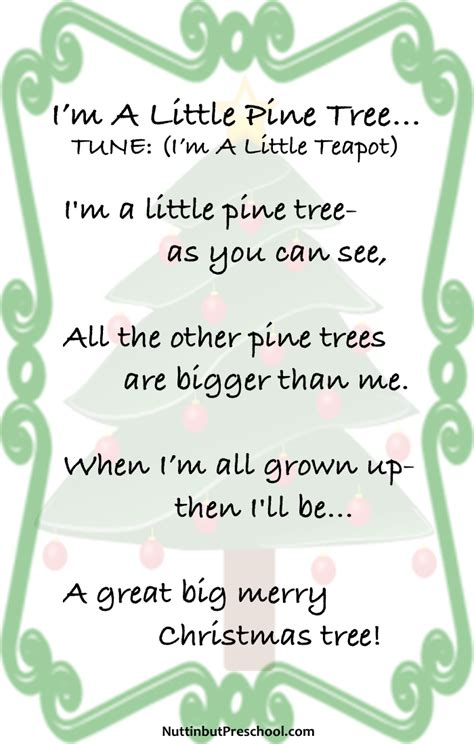 tree poems preschool all postings archives nuttin but preschool