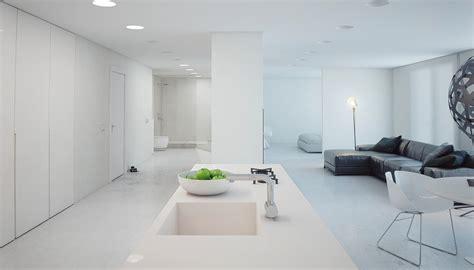 minimalist apartments a minimalist modern apartment in white