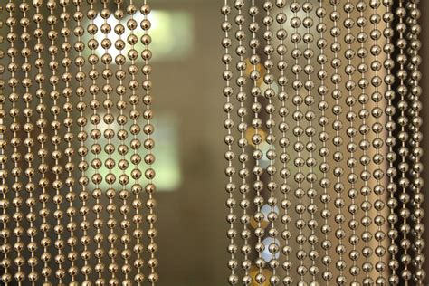 metal beaded curtains suppliers metal bead curtain 13 shinning nickel color chain