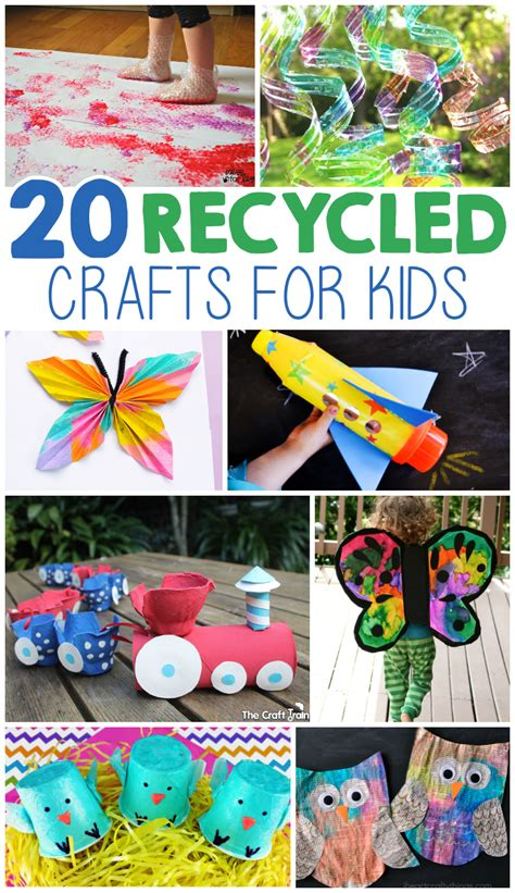recycled material crafts for 20 crafts from recycled materials i arts n crafts