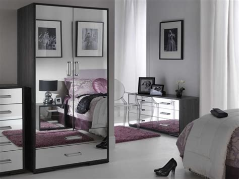 black glass bedroom furniture mirrored glass bedroom furniture