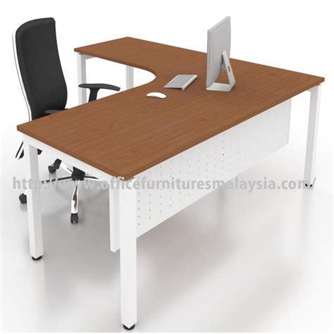 modern table desk office modern l shape table desk malaysia price damansara