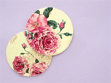 how to make decoupage coasters creative diy favors ideas the craftables