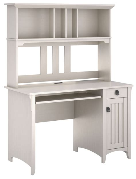 mission desk with hutch salinas antique white mission desk with hutch from bush