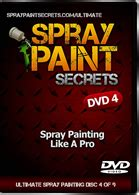 spray paint dvd ultimate 9 dvd spraypaintsecrets car spray painting and