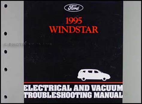 electric and cars manual 1995 ford f series navigation system 1995 ford windstar van electrical and vacuum troubleshooting manual 95 original ebay