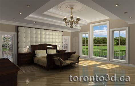 Bedroom Interior Design 3d archiitectural rendering interior contemporary bedroom