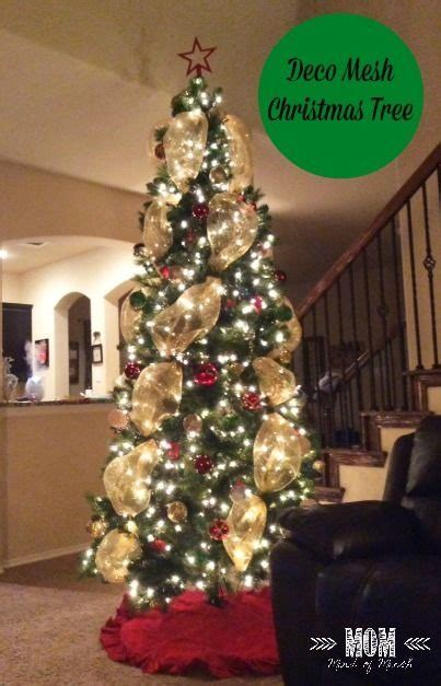 decorating trees with deco mesh how to decorate tree with mesh great printable