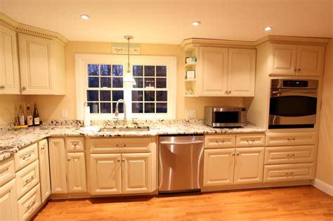 hardwood kitchen cabinets antique white kitchen cabinets improving room coziness