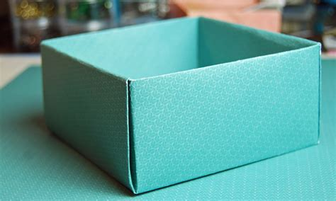 how to make a box out of a card how to make a box with paper diy paper box for